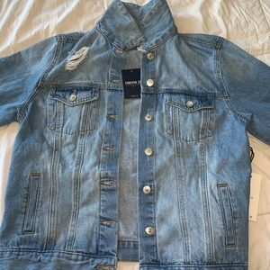 forever 21 denim collection denim jacket